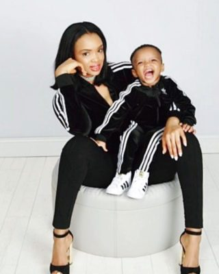 Wizkid's Second Son King Ayo Turns Two T...