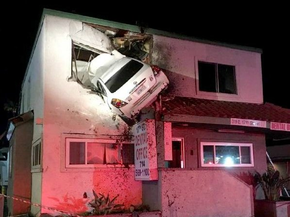 How Did This Even Happen! Car Crashes In...