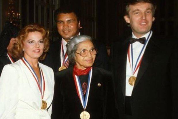 'Racist' @realDonaldTrump receives 1986...