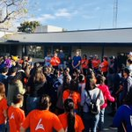 To celebrate the life and legacy of Dr. King, AESD and @AnaheimUHSD students are participating in a 'Servathon' community service day #spiritofanaheim #servathon #innovative #diverse #collaborative @PricePandas @WestmontSchool