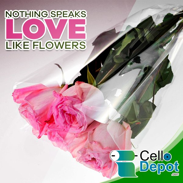 Cellodepot On Twitter And Our Cellophane Flower Wrappers