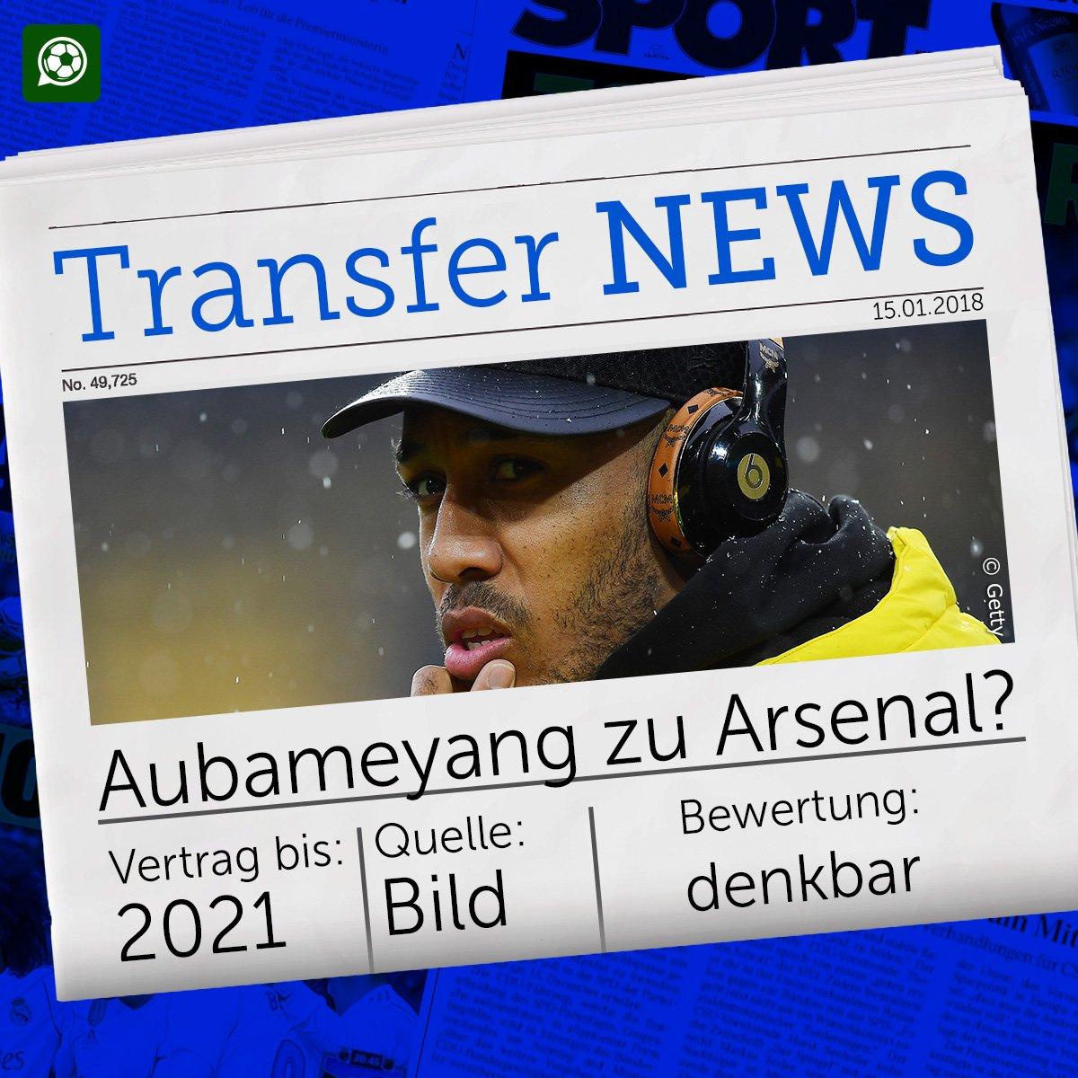 Wenn Sanchez geht, könnte Aubameyang ber...