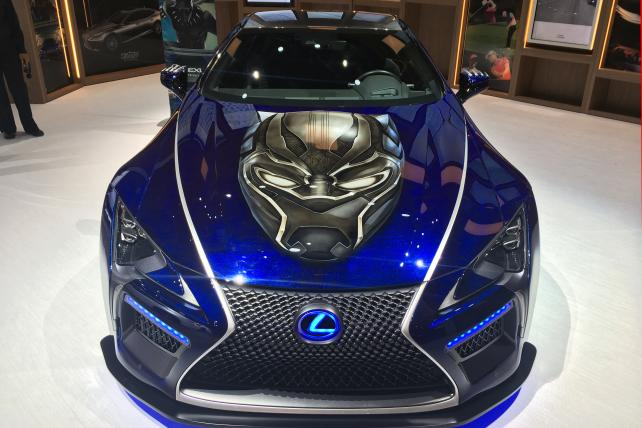 Toyota Makes Big Super Bowl Buy, Lexus Returns With 'Black Panther' Ad https://t.co/pSru5a3Pk7 https://t.co/eBnREs4uC5