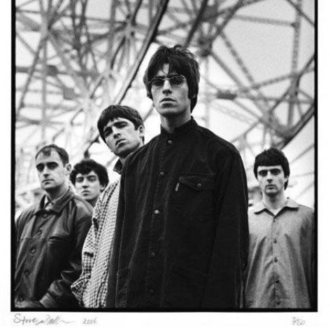 Oasis photographed at Jodrell Bank, Cheshire. 📸 Steve Double