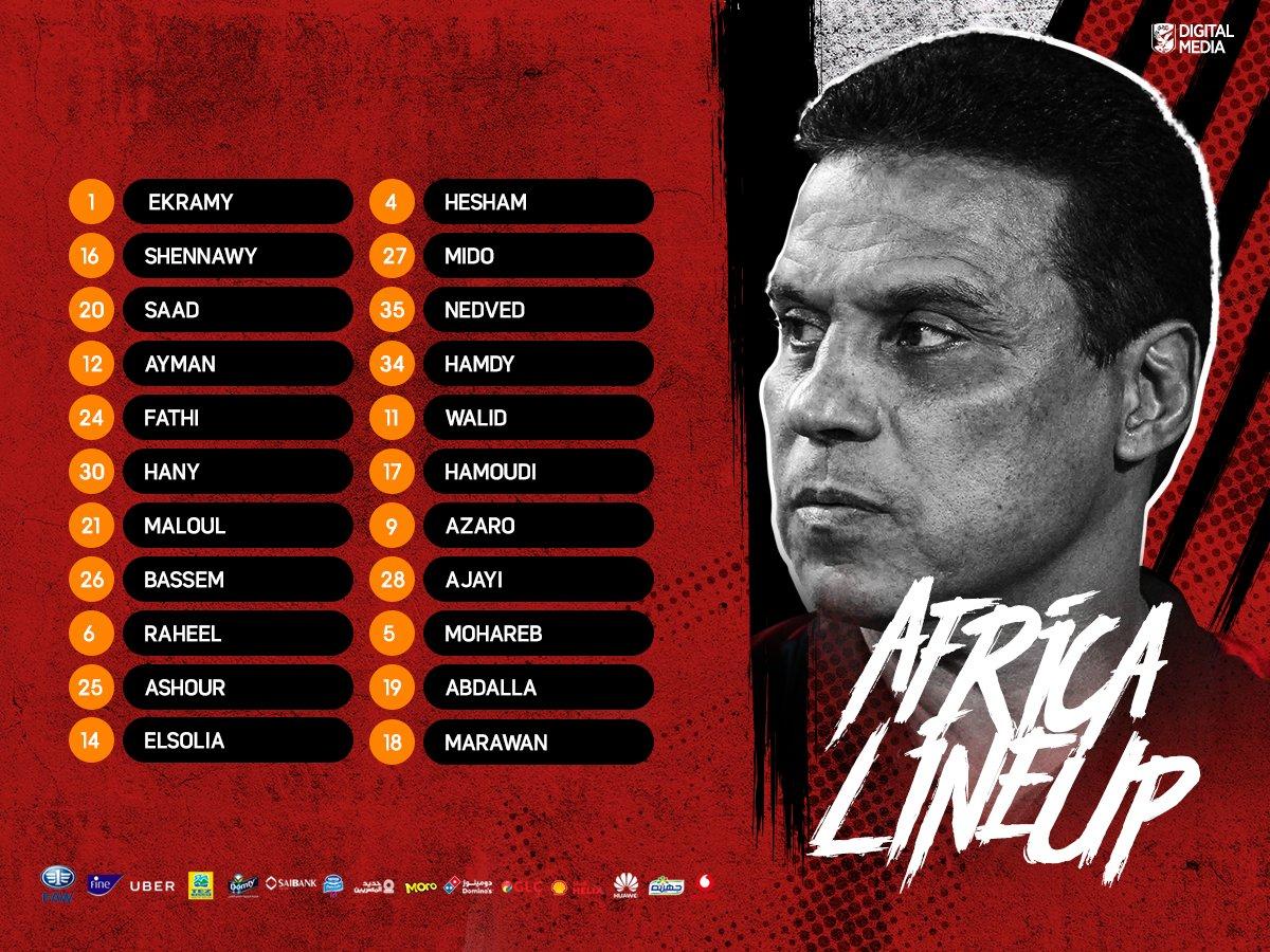 📝 الجهاز الفني بقيادة حسام البدري، قرر قيد 2⃣2⃣ لاعبًا في القائمة الإفريقية.  #YallaYaAhly https://t.co/rvkdQMoWID