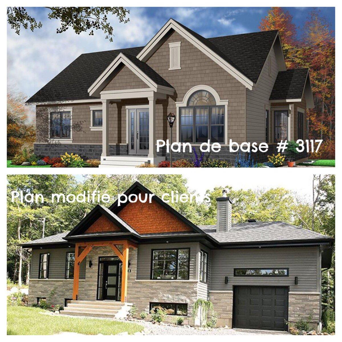 Plans de maisons dessinsdrummond twitter for Dessins maison