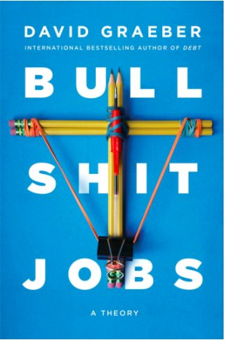 Hey @davidgraeber, we were snooping around the Interwebs and found this gem. Nice! Read the @strikeyo essay that was translated into 17 languages and prompted the book (May 2018) based on the question now asked around the world: Do I have a #bullshitjob? strikemag.org/bullshit-jobs/