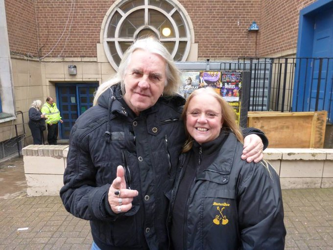 Happy Birthday Biff Byford Saxon x