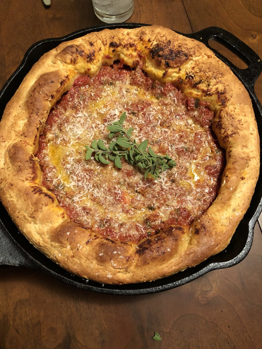 Sophia On Twitter Hey At Foodwishes We Made Your Deep Dish Pizzas
