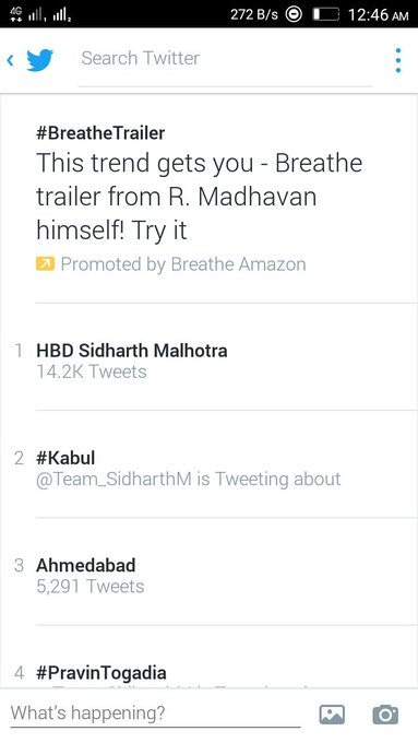 Its Trending On 1st HBD Sidharth Malhotra ... Happy Birthday