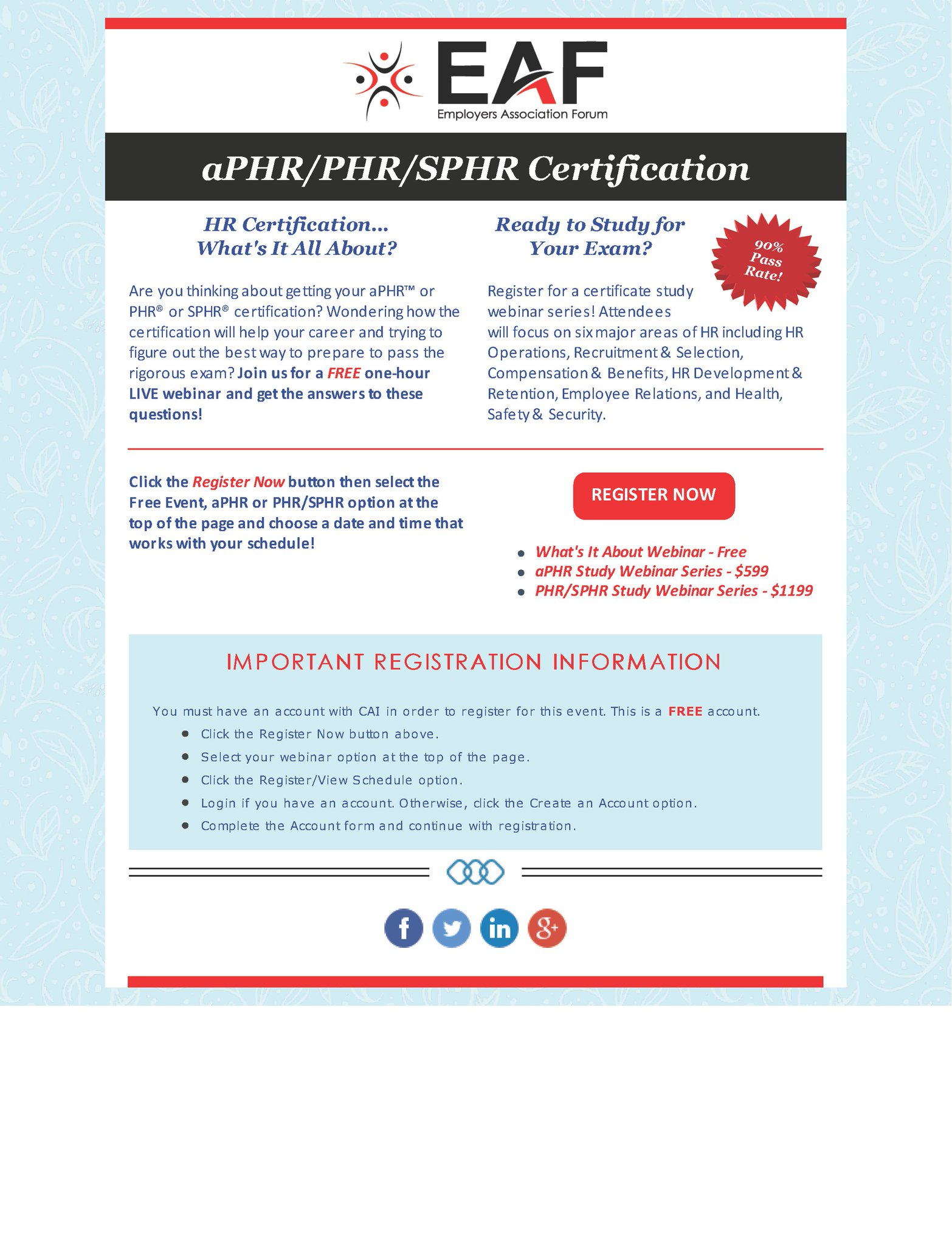 Eaf Hr Association On Twitter Want To Earn An Aphrphrsphr