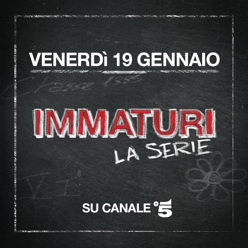 Segnatevi l'appuntamento per questo venerdì: c'è la seconda puntata di #ImmaturilaSerie!!! 👇👇👇 https://t.co/Z1AHcxzTIN