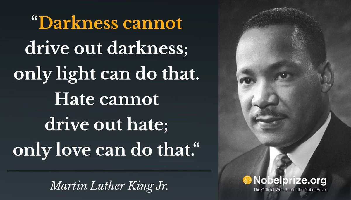 The Nobel Prize On Twitter Martin Luther King Jr Was Awarded The