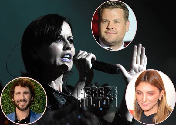Celebrities pay tribute to The Cranberries' Dolores O'Riordan