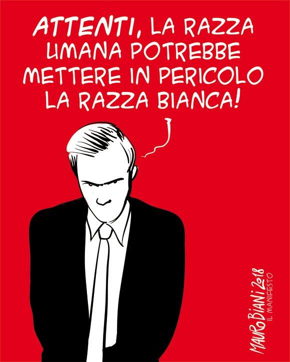 #razza #razzabianca Razze. Per @ilmanife...
