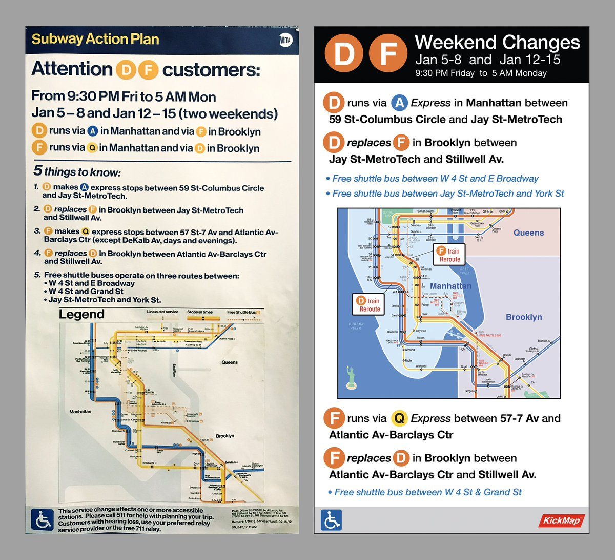 Mta D Train Subway Map.Kickmap On Twitter We Had To Accept Eom S Challenge Our Take On