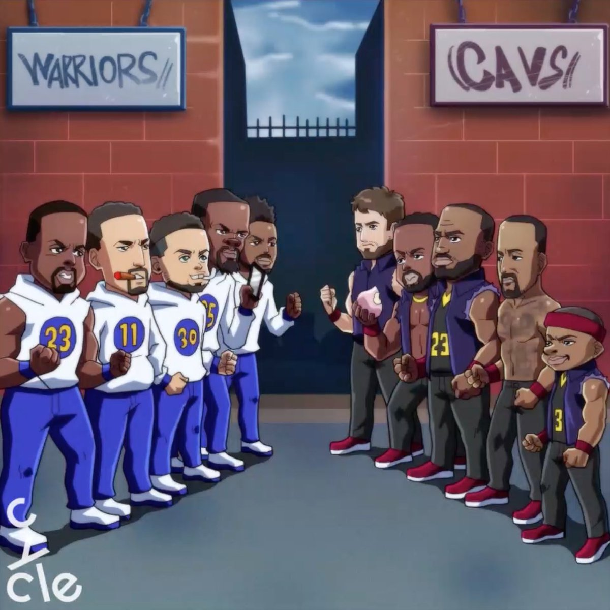 Cycle's photo on Cavs