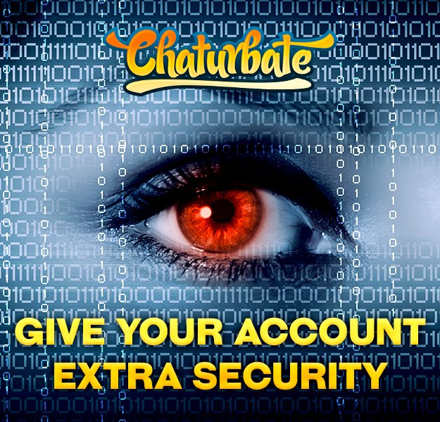 Want an extra layer of security for your Chaturbate account? Enable 2 Step Verification! https://t.co/w06prZhkBP