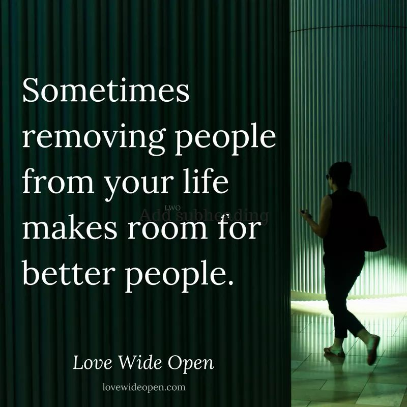 Love Wide Open On Twitter Remove Those Who Are Toxic Toxic