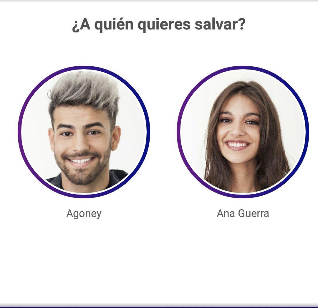 ¿Quién debe ser finalista?  RT Agoney Fa...