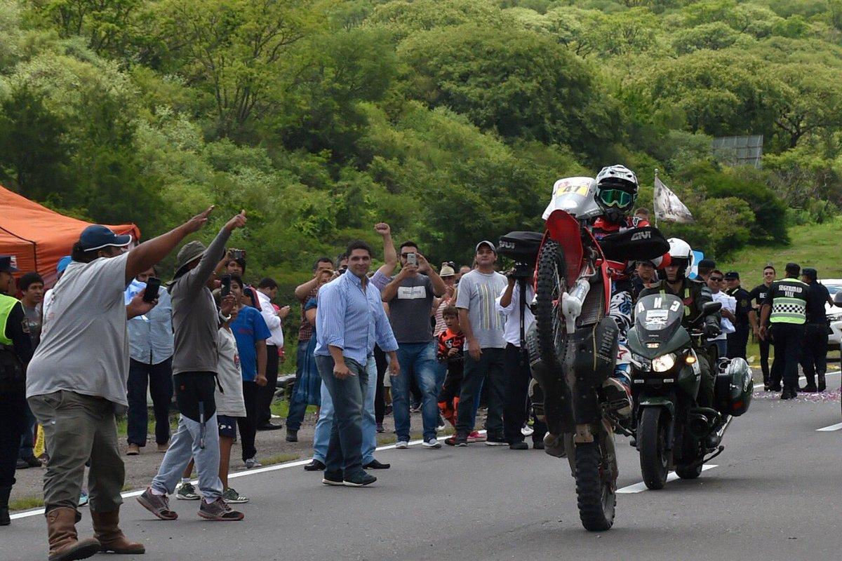 El Dakar pasó una vez más por Salta. ¡Fe...