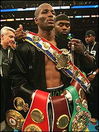 Happy Birthday to the Legend of Longevity Bernard Hopkins AKA The Executioner AKA The Alien!