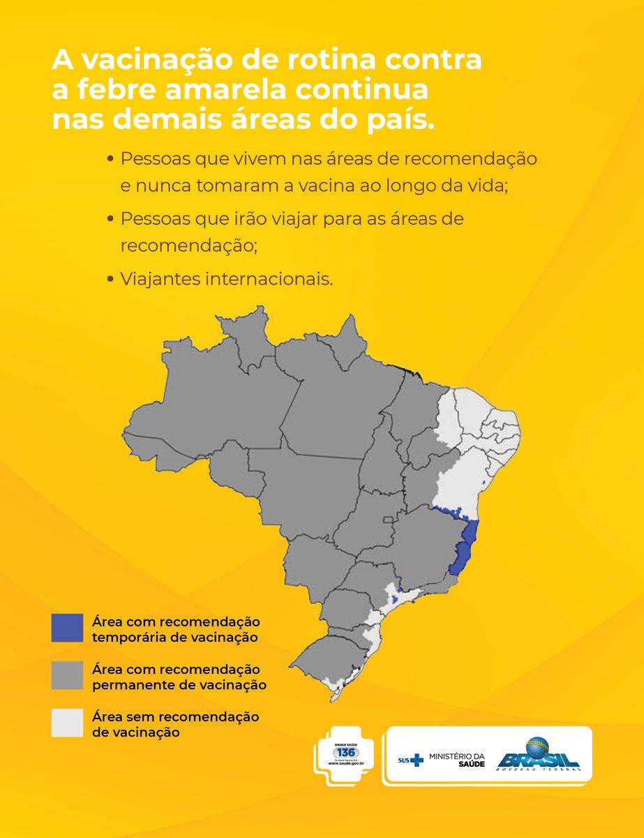 São Paulo (@saudespimprensa) receberá mais 1 milhão de doses de vacina da febre amarela. Saibahttps://t.co/9oi2dnhZ41 #FebreAmarelamais: