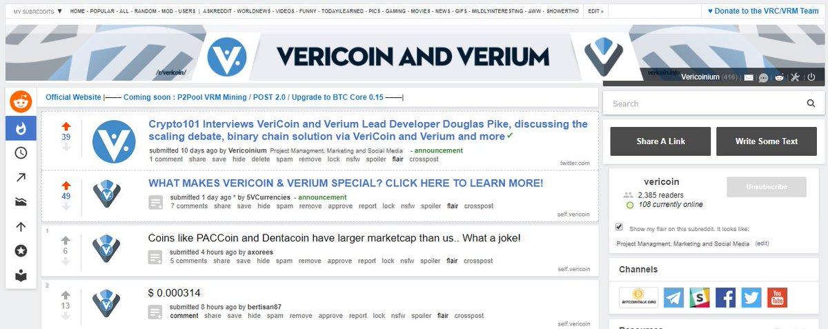 VeriCoin on Twitter: