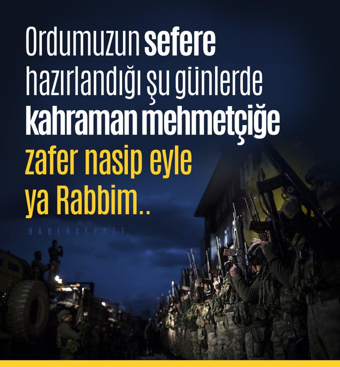 Muzaffer kıl Ya Rabb...