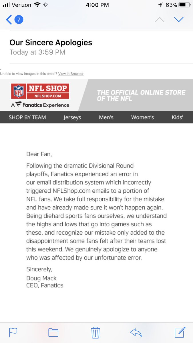 Now they've sent an apology... -dc https...