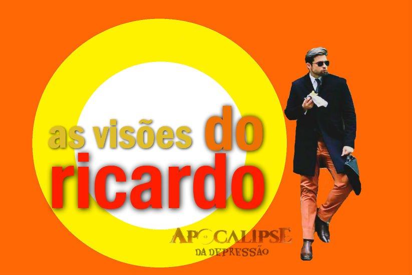 RT @APCdaDepressao: E os memes com o Ricardo não param... Tão sabendo da mais nova série da Record?  #Apocalipse40 https://t.co/yRhB4twbRU