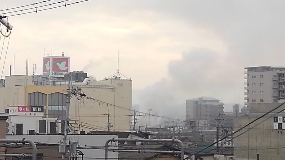 【火災速報】滋賀県大津市の石山商店街で火事発生 …