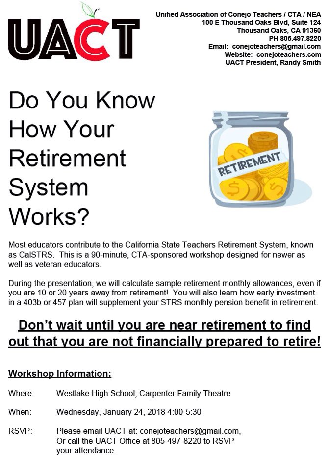 How calstrs and social security benefits work together.