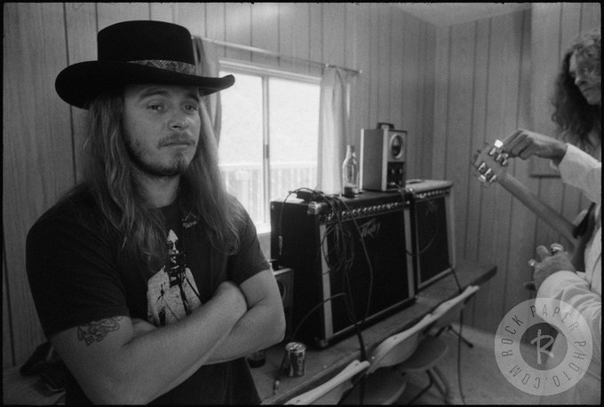 Happy 70th birthday to Ronnie Van Zant... the original southern rock bad ass.
