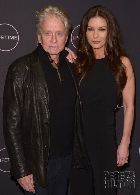 #CatherineZetaJones stands by husband #MichaelDouglas amid sexual misconduct claims
