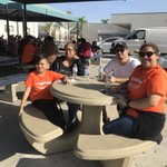 Day of Service - Lincoln and Anaheim High School #servathon #teamwork #civicengagement