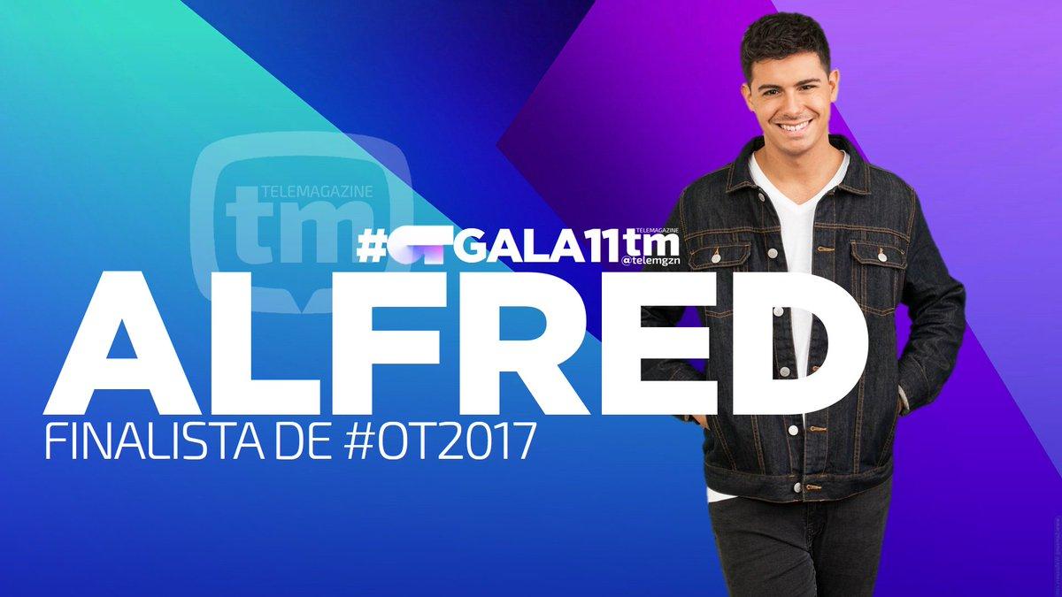#OTGALA11 | Alfred, finalista de #OT2017...