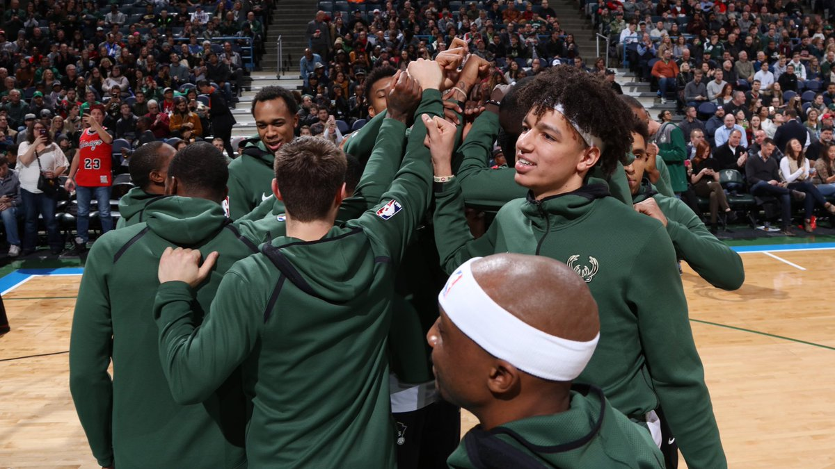 Thank you Bucks fans for all your #NBAVote support!! You're the best in the world!! #FearTheDeer