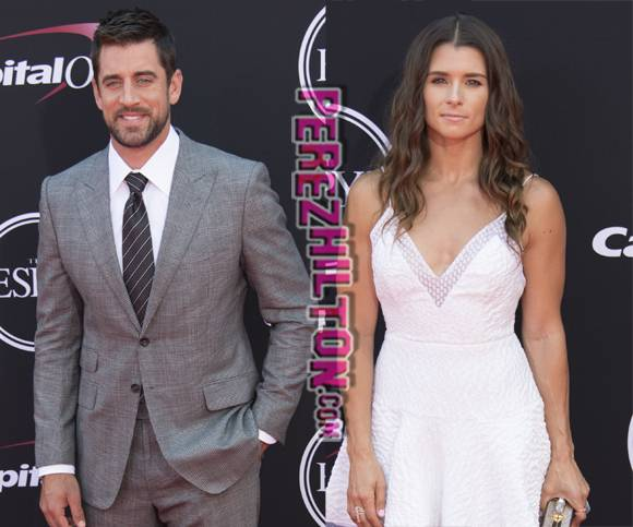 UPDATE! @AaronRodgers12 IS dating @DanicaPatrick!