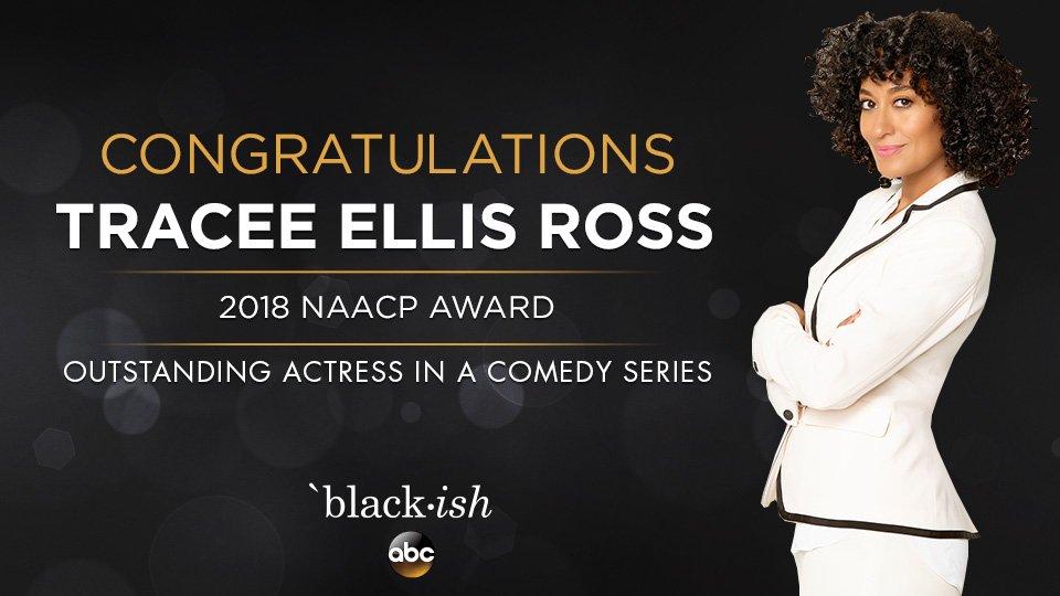 Congratulations, Tracee Ellis Ross. #NAA...