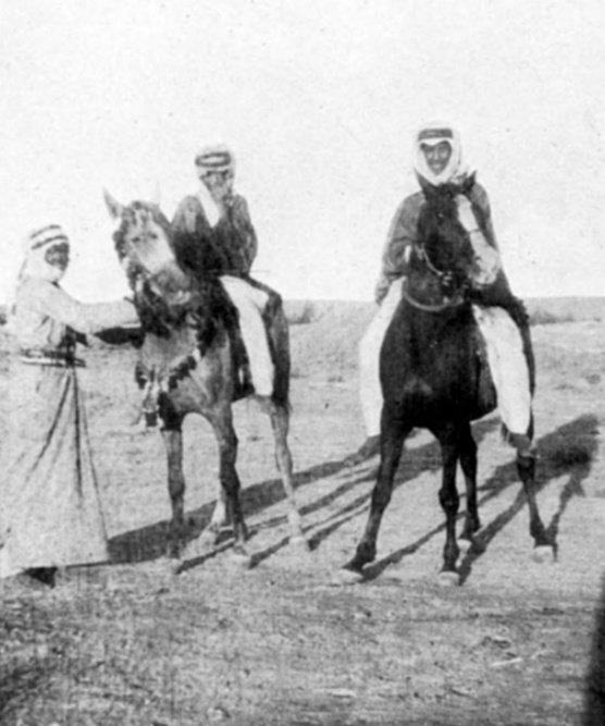 صورة نادرة للملك سعود في ريعان شبابه مع...