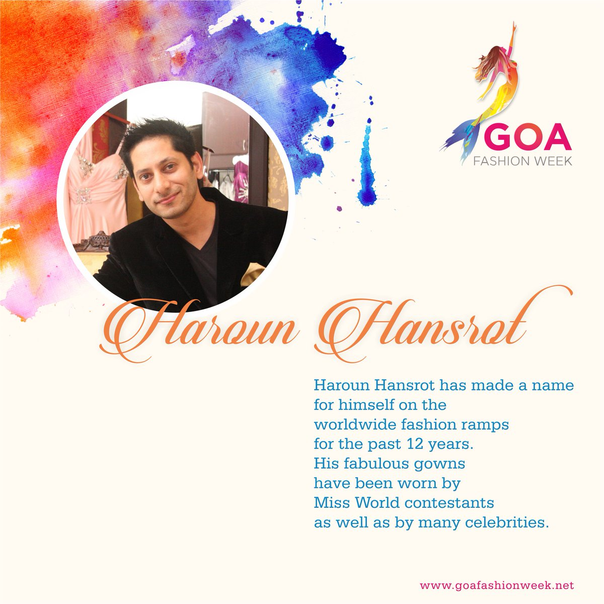 An epitome of one the most successful and talented fashion designers in the world Mr . Haroun Hansrot !   http://www. goafashionweek.net / &nbsp;    #GFW #fashionweek #fashion #goafashionweek #style<br>http://pic.twitter.com/9V0Hj15DvS
