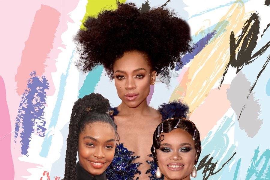 The slay is real on the #ImageAwards red carpet. These beauty looks are EVERYTHING: https://t.co/jbHzR6O4Xu