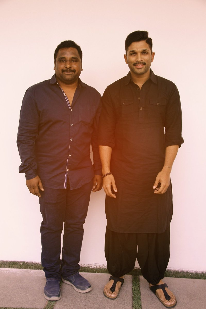 Stylish Star @alluarjun with fan 💙 https...