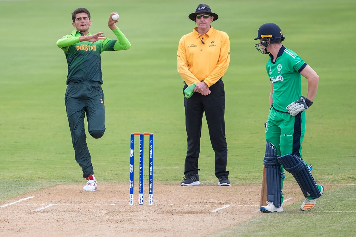Pakistan demolish Ireland in the Under-19 World Cup, winning by 9 wickets