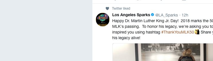 Los Angeles Sparks On Twitter Happy Dr Martin Luther King Jr Day