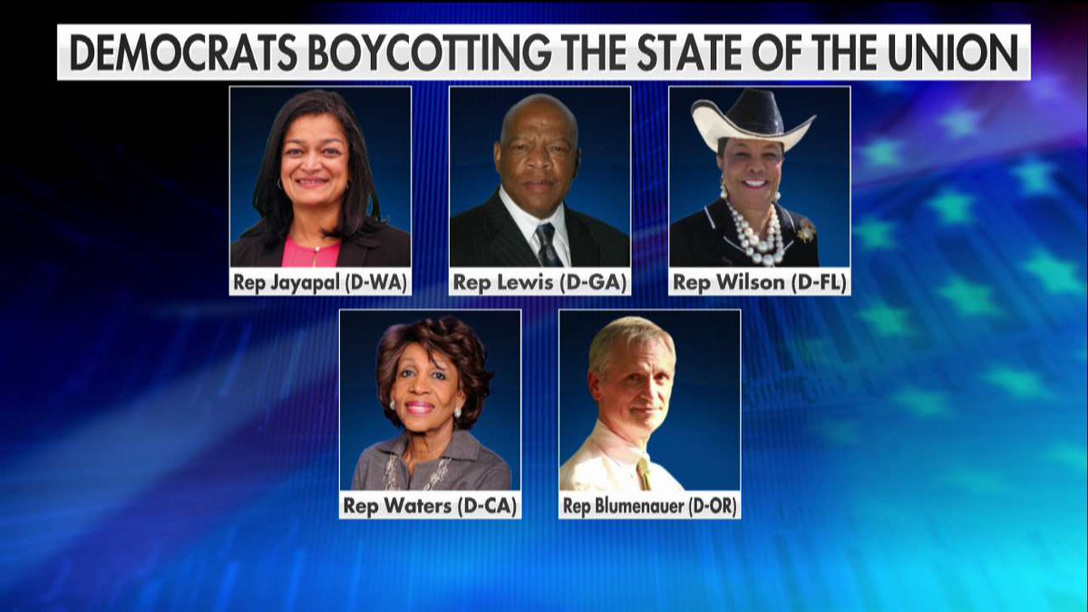 Democrats Boycotting the State of the Union