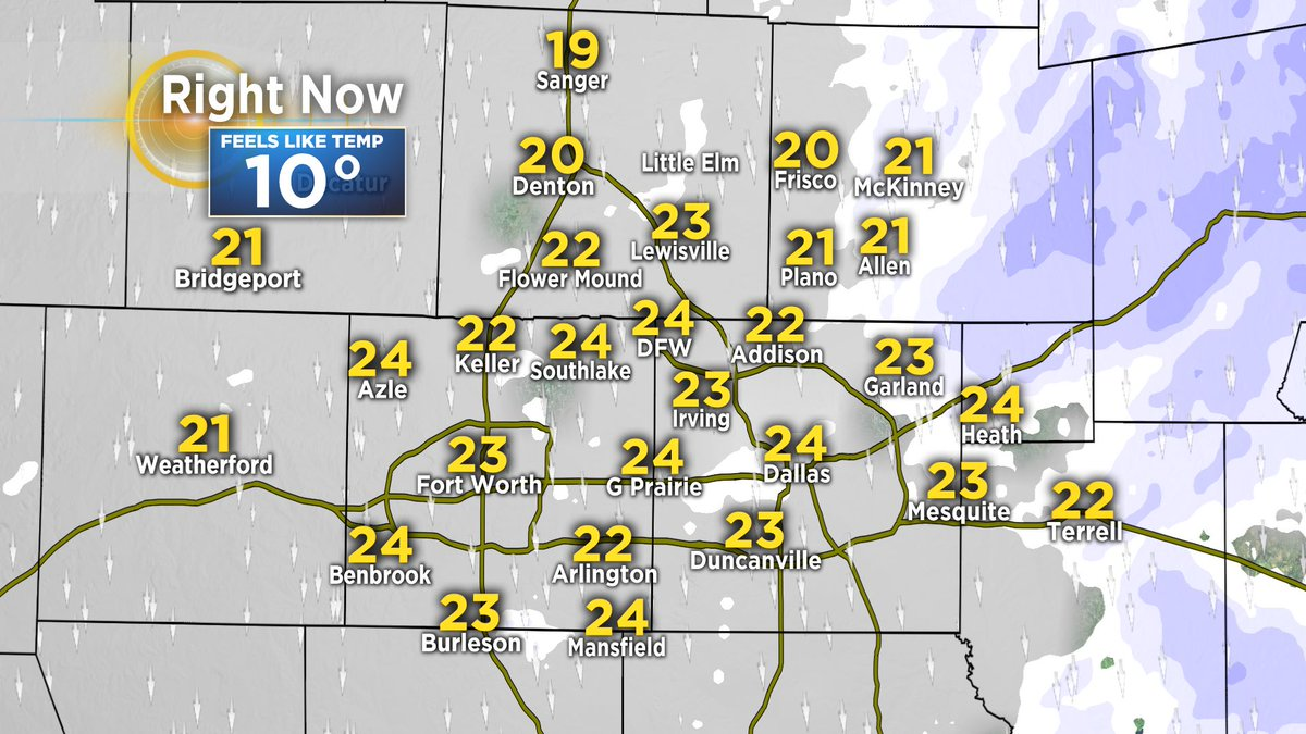 "jeff temps Jeff Jamison on Twitter: ""A look at temps right now in the DFW area ..."