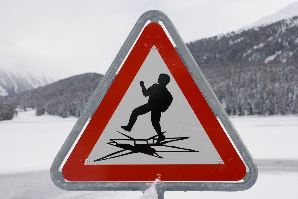 для знак не ходи по тонкому льду увлекается пространство
