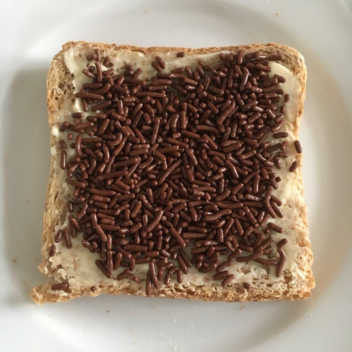 Heute Schokolade zum Frühstück. Nennt mi...